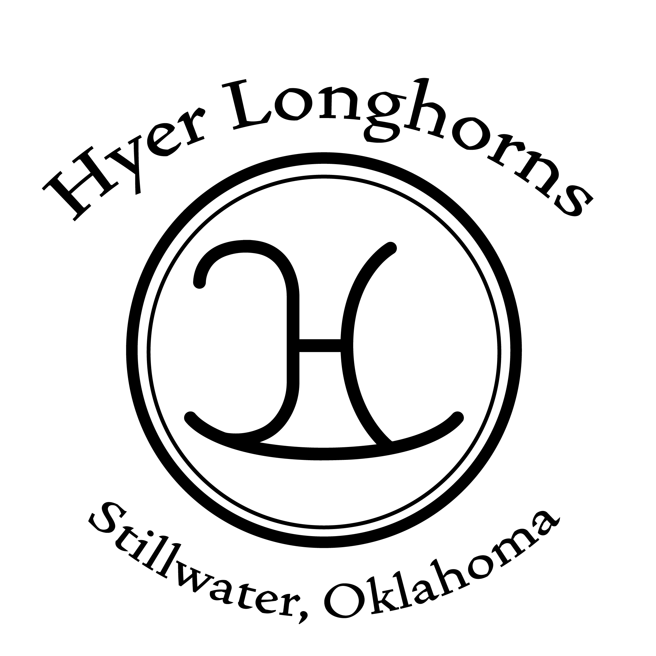Hyer Land and Cattle Logo